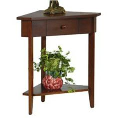 Corner Tables with Storage  Designs in Wood  Andy