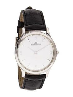 (120904) Jaeger LeCoultre Master Control Ultra Thin Stainless Steel on Strap145.8.794122 (2300)
