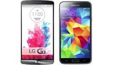 Samsung Galaxy S5 vs LG G3 vs HTC One M8 – Best Phones Compared