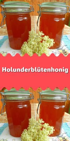 Elderflower honey - A homemade honey made from elderflower. Like classic honey, it is suitable e. for sweetening tea. Apple Cider Vinegar Diet, Healthy Food List, Healthy Foods, Lose Weight Naturally, Easy Food To Make, Medicinal Herbs, Food Inspiration, Vegan Recipes, Brunch