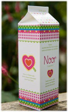 Noor! Design: Geboortekaartje Noor (gewoon idee om iets extra's te doen met ontwerp)