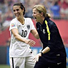 U.S. coach Jill Ellis and team captain Carli Lloyd both earned FIFA honors on Monday.