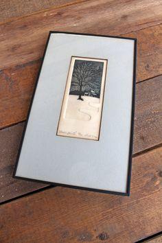 Shades of Winter - James A. Linocut Prints, Art Prints, Block Prints, Linoleum Block Printing, Etching Prints, Artist Sketchbook, Embossed Paper, Mid Century Art, Art Plastique