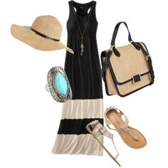 Summer Stroll by Giovanna Giacosa on Polyvore