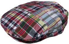 f9b20b48313 Broner Cotton Madras Plaid Ivy Scally Cap Driver Hat