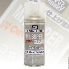 Купить Mr. Super Clear Flat UV Cut - супер клир, лак матовый, суперклир