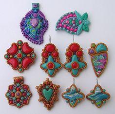 new polymer clay jewelry