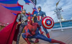 In fall 2017, Disney Cruise Line guests assemble on the Disney Magic to celebrate the epic adventures of the Marvel Universe's mightiest Super Heroes and Super Villains in a brand-new, day-long event during seven special sailings departing from New York City: Marvel Day at Sea. The celebration combines the thrills of renowned Marvel comics, films and animated series, with the excitement of Disney Cruise Line entertainment to summon everyone's inner Super Hero for the adventures that lie…