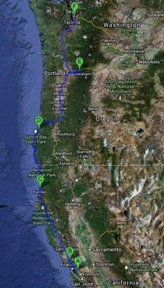 The start of our epic journey from San Francisco to Seattle and back again. This post takes us on the first 5 days from San Francisco through the Avenue of the Giants, getting bogged in the Oregon Dunes, feeling the spray of Multnomah Falls & witnessing the terrifying beauty of Mount Saint Helen.