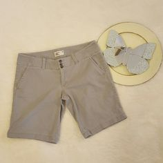 Womens American Eagle Stretch Gray Bermuda Shorts Size 6 #102   Clothing, Shoes & Accessories, Women's Clothing, Shorts   eBay!