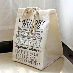 2016 new cotton linen fabric laundry basket packing clothing storage basket big capacity foldable dirty clothes storage basket Clothes Storage Boxes, Large Storage Bags, Laundry Basket Storage, Linen Storage, Clothing Storage, Storage Baskets, Bag Storage, Laundry Box, Laundry Hamper