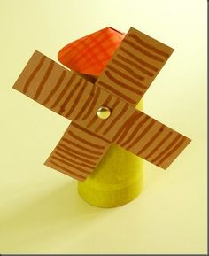 Theme vent on pinterest google scrapbooking and pinwheels - Fabrication moulin a vent ...