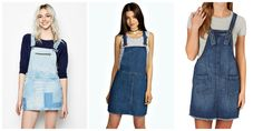 I really love this denim dungaree dress trend. Easy weekend outfit and you can make a DIY version without a sewing pattern pretty quickly. I made this project under an hour. I haven't intenti…