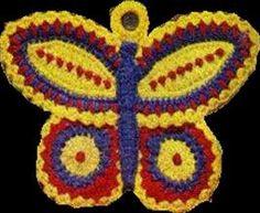 Butterfly Vintage, Crochet Pattern Vintage