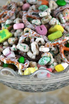 Lucky Charms Snack Mix. I would make this even if it is not St Pattys day.