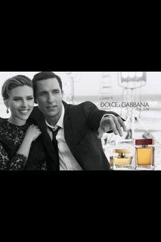 Scarlett Johansson & Matthew MacConaughey
