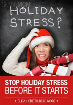 We all can get stressed around the Holidays.. Stop it before it starts this year!