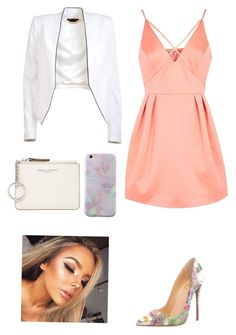 """""""Untitled #129"""" by sarrabaccouch on Polyvore featuring Topshop, Marc Jacobs and Alice + Olivia"""