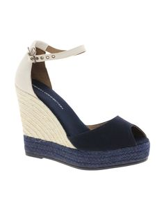 'morgan' espadrille wedge french connection s/s2012 asos