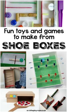 With crafty kids, there are so many creative ideasthat you can make just from things that would have been thrown away or put into the recycling bin. Shoe boxes are a great example of this. They are super versatile and are just perfect for making cute crafts and DIY games! Here are a few shoe …
