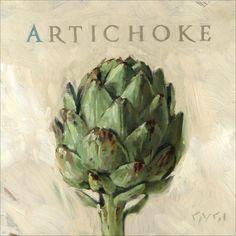 'Amberton Publishing Artichoke' Art