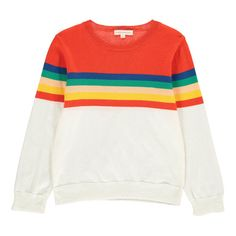Rainbow Jumper Hundred Pieces Teen Children- A large selection of Fashion on Smallable the Family Concept Store - More than 600 brands. - July 27 2019 at Summer Fashion For Teens, Kids Fashion Boy, Toddler Fashion, Outfits For Teens, Teen Fashion, Fashion Clothes, Womens Fashion, Modern Fashion, Fashion Styles