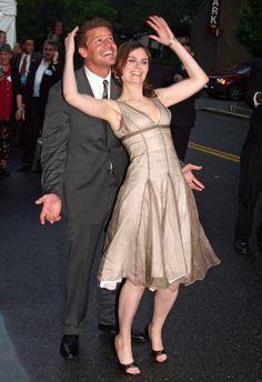 Emily Deschanel And David Boreanaz 2013