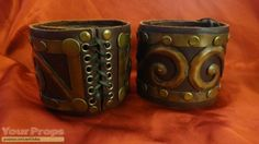 Xena: Warrior Princess Xena's Armbands Sold By Creation Ent replica TV series prop Xena Costume, Xena Warrior Princess, Movie Props, Cuff Bracelets, Bangles, Narnia, Halloween Costumes, Cosplay, Craft Projects