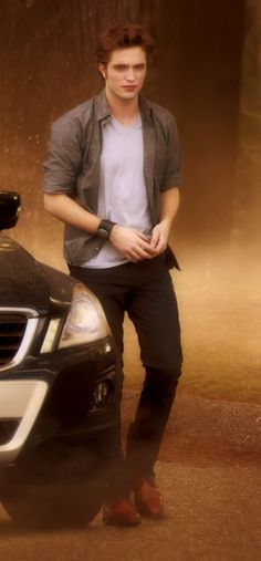 My favorite part of new moon when he is walking from his car...