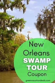 Get to know New Orleans by taking this airboat swamp tour. You'll be able to see some of the most beautiful & secluded parts of Louisiana as you zip through the bayou & squeeze into tiny, hidden canals. Learn about the bayou, see wildlife like alligators, turtles & birds up-close & have a chance to hold a baby gator! Find out where to go & how you can save up to 20% on your tour ticket. Definite must for things to do in New Orleans #NewOrleans #NOLA #ThingsToDoInNewOrleans #Louisiana #SwampTour New Orleans Swamp Tour, Downtown New Orleans, Vacation Deals, Vacation Spots, New Orleans Travel, Bourbon Street, Alligators, Tour Tickets, Round Trip