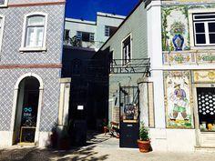 Lisbon. Exploring Largo do Intendente.