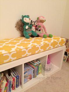 Ikea Expedit Custom Cushion for Nursery Playroom   Etsy