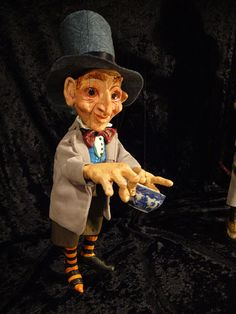 Mad Hatter from Alice in Wonderland by ofMiceandMarionettes,