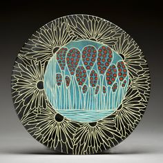 6 Web Plate 15 by Marcy Neiditz