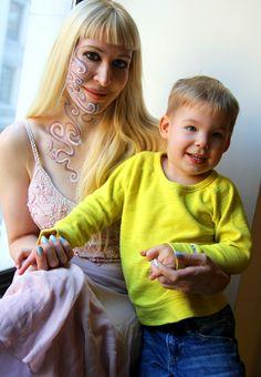 The Viking & mama #babyviking