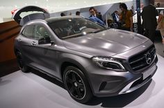 2015 Mercedes Benz Gla Class Front View