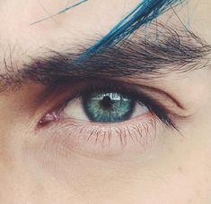 alternative, blue, and teddy lupin resmi Pretty Eyes, Cool Eyes, Beautiful Eyes, Green Eyes, Blue Eyes, Teddy Lupin, Aesthetic Eyes, The Dark Artifices, Eye Photography