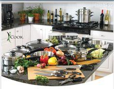 La comidas geniales comienzan con utensilios geniales - utensilios y cuchillería iCook®. Tienda USA: www.anway.com/marquezusa Tienda América Latina: www.amway.com/marquez.misitio