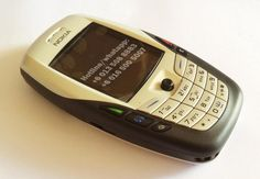 Original Nokia 6600 Classic Phone...que feo era...