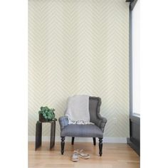 Blik Wall Decal - Herringbone ~ Pattern Wall Tiles - If we're in our apartment for at least 2 years, this would be a really fun way to punch up one of the living room walls :-) And of course I'm obsessed with herringbone, so that helps!
