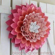 Big Flower Wreath