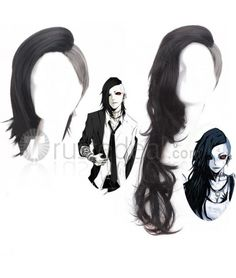 Tokyo Ghoul Uta Male and Female Cosplay Wigs$15.99 - Anime Cosplay Wig--->> http://www.trustedeal.com/tokyo-ghoul-uta-cosplay-wig-2015tg08.html