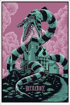 Beetlejuice poster by Ken Taylor.