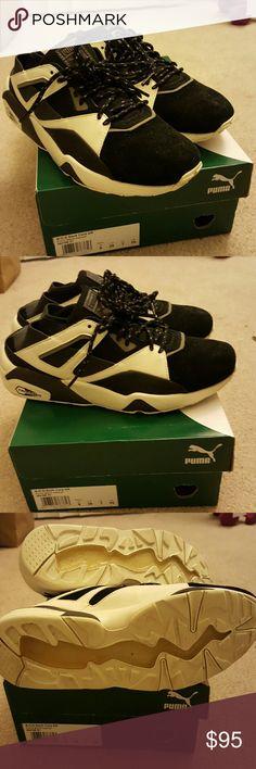BTS Puma bog sock core KR women uk6 eu39 25cm Black asphalt Korea exclusive color. It says EU39 US7 but it fits like a us size 8 to me. Only worn once. puma Shoes Sneakers