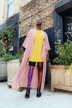 Cacsmy Brutus, a.k.a. Mama Cax, shows us how she transitions from day to night with her 12-hour outfits.