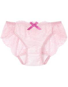 Girl's Pink Nylon Panties That Boys Enjoy Wearing Lingerie Shorts, Girls In Panties, Cute Pants, Girl Fashion, Womens Fashion, Wacoal, Bandeau Bikini, Sports Women, Pink Girl