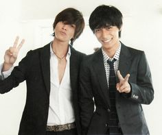 Yamashita Tomohisa (Yamapi) and Ryo