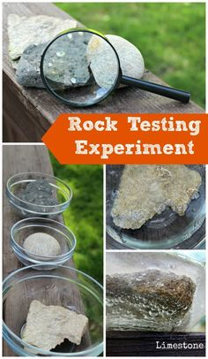 & Minerals: A Fun Testing Experiment for Kids Awesome science experiment! Rock testing & geology for kids -- perfect for summer science camps! Rock testing & geology for kids -- perfect for summer science camps! Rock Science, Summer Science, Preschool Science, Elementary Science, Science Education, Science For Kids, Science And Nature, Earth Science Activities, Physical Science