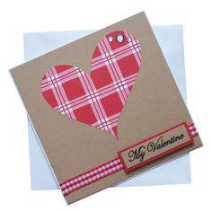 Handmade Valentines Card £1.80