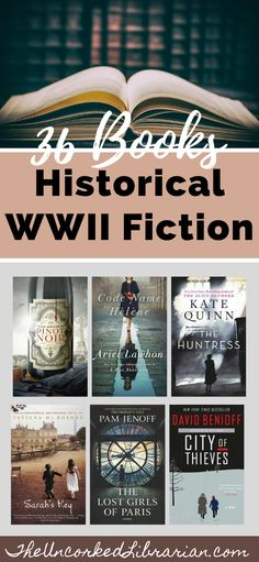 If you love WWII historical fiction books, don' miss 36 of our reader favorites. We'll share World War 2 biographical fiction, WW2 romance, and best fictional books about WW2. Reading Lists, Book Lists, Best Historical Fiction Books, Indie Books, Fiction And Nonfiction, Best Books To Read, Book Reader, History Books, Historia